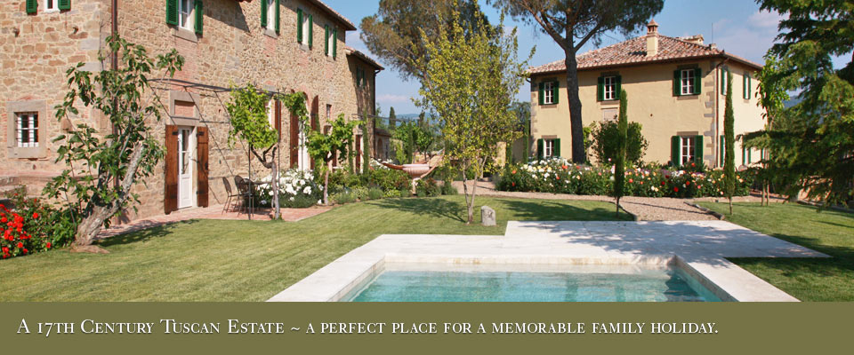 Villa Laura in Tuscany