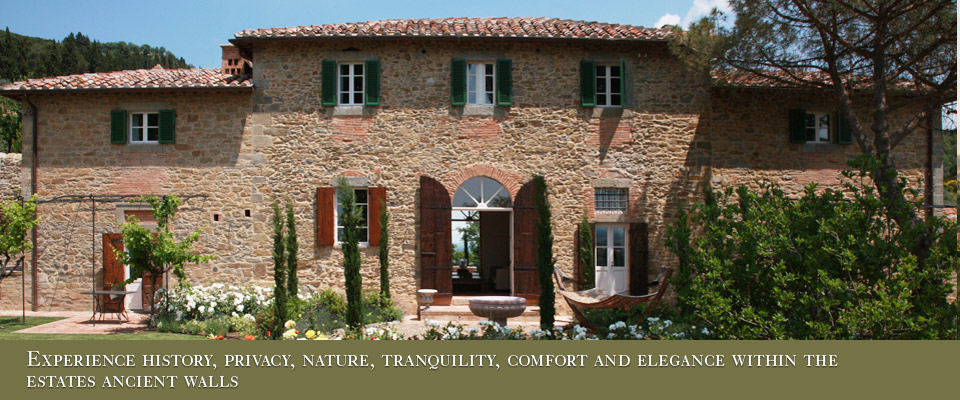 The perfect party villa for rent in Cortona